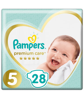 Подгузники Pampers Premium Care 5 (11-16 кг) 28шт
