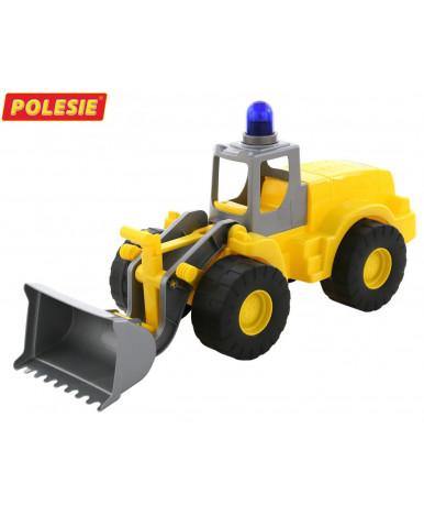 """""""Гранит"""", трактор-погрузчик с маячком"""