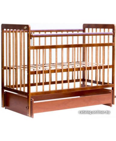 Кровать детская Bambini Euro Style 05, светлый орех