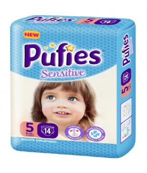 Подгузники Pufies Baby Art&Dry 5 (11-20 кг) 14 шт