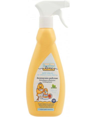 Средство для мытья поверхностей BabyLine спрей 480 мл