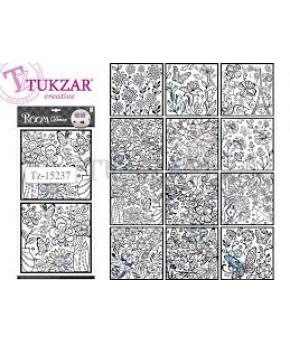 Наклейки Tukzar 30х58 см