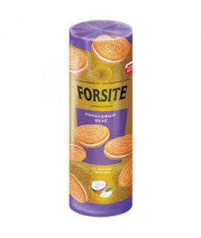 Печенье FORSITE Сэндвич с кокосовым вкусом 208г