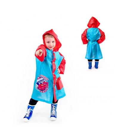 Детский дождевик Чемпион Тачки, размер S
