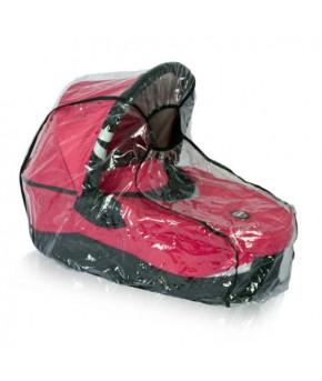 Дождевик на коляску Багира универсальный, кант: чёрный,серый