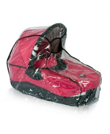 Дождевик на коляску Багира универсальный кант чёрный серый
