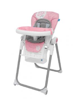 Стульчик для кормления Baby Design LOLLY 08 PINK