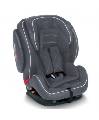 Автокресло Lorelli MARS ISOFIX Grey Leather (9-36кг)