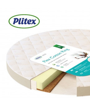 Матрас Plitex Flex Cotton Ring 640х640х90мм