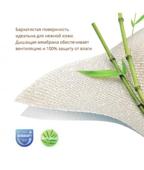Наматрасник непромокаемый Plitex Bamboo Waterproof Comfort 60х80