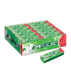 Жевательная резинка Impulse со вкусом арбуза 14г