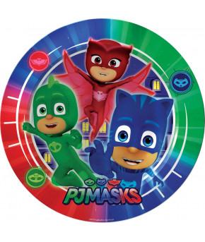 Набор тарелок Герои в масках