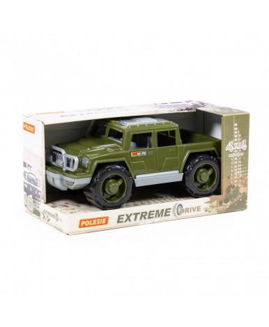 Автомобиль Полесье Защитник военный РБ (в коробке)