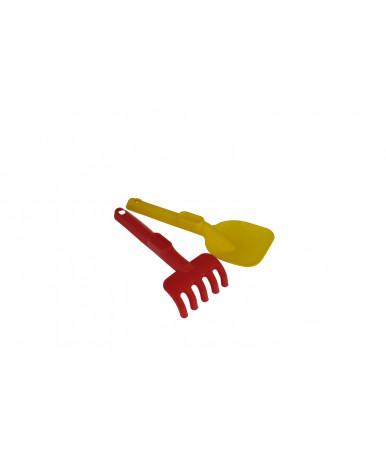 Грабли Полесье + лопатка набор №465