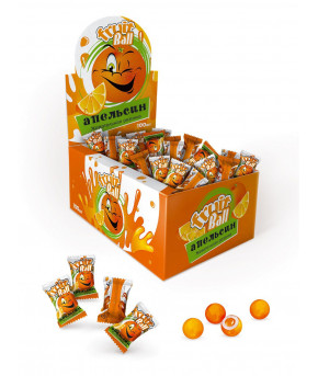 Жевательная резинка ГАММИ ФРУТ со вкусом клубники, яблока, апельсина