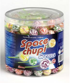 Карамель на палочке Space Chupi Creme 9,5г