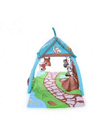 Коврик Lorelli Маленький домик 113х56х53см