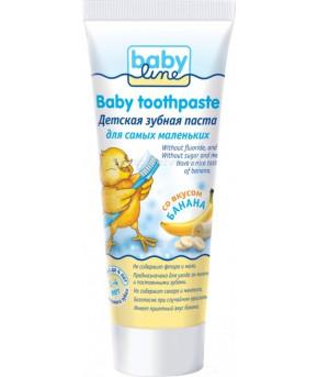 """Зубная паста """"BabyLine"""" со вкусом банана 75мл"""