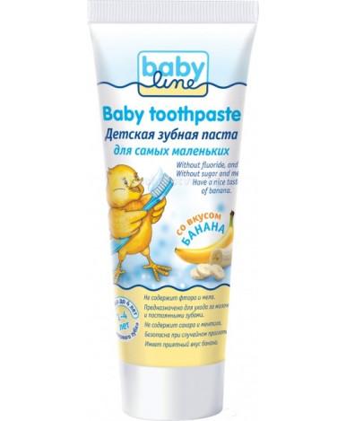 Зубная паста Baby Line со вкусом банана 75мл