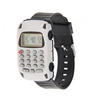 Часы наручные электронные Машинка с калькулятором