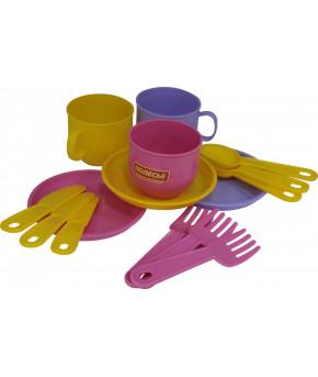 "Набор посуды ""Polesie"" Минутка на 3 персоны"