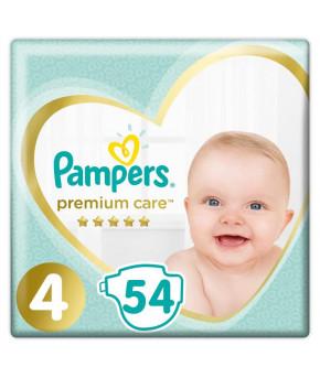 Подгузники Pampers Premium Care 4 (9-14 кг) 54шт