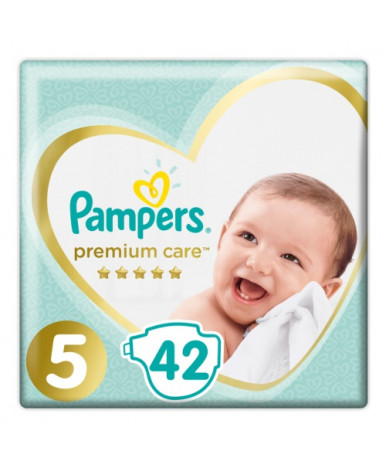 Подгузники Pampers Premium Care 5 (11+кг) 42шт