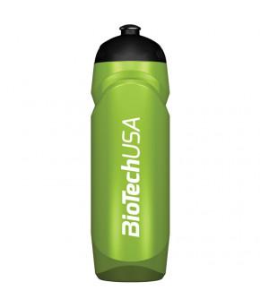 Фляга для питья прозрачно-зелёная 750мл. Biotech USA