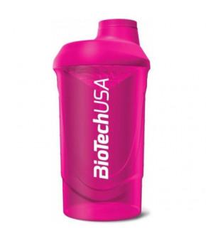Шейкер пурпурный 600мл. Biotech USA Wave