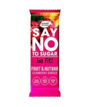 Батончик фруктовый Smart Formula cranberry-ginger 40г