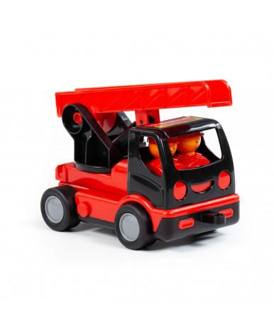 Автомобиль пожарная Полесье Mammoet в сеточке
