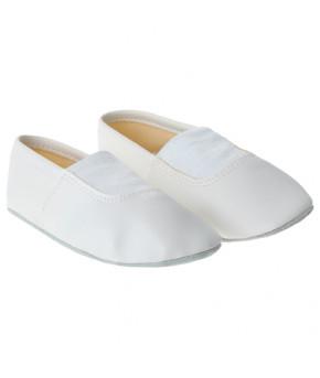 Чешки комбинированные, цвет белый (длина по стельке 14)