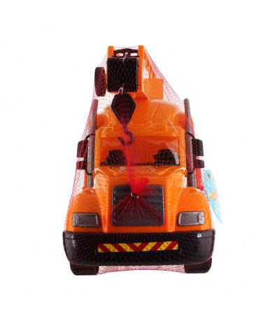 Автомобиль - кран Полесье Майк с поворотной платформой