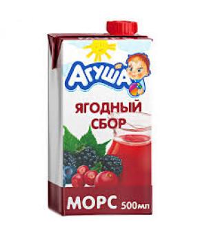 Морс Агуша Ягодный сбор 500мл