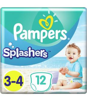 Подгузники-трусики Pampers Splashers для плавания 3-4 (6-11 кг) 12шт