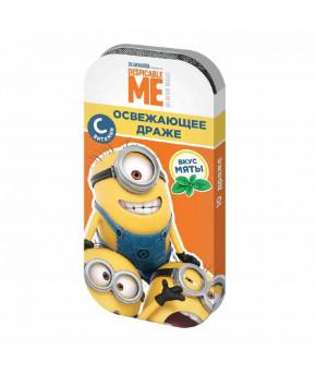 Драже Minions мята, апельсин, вишня, лимон 12г