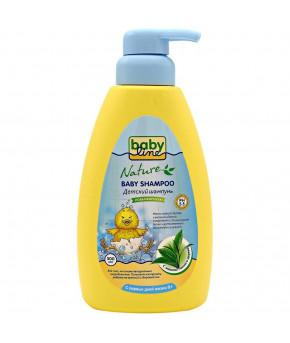 Шампунь детский BabyLine Nature с дозатором 500мл
