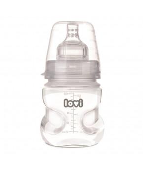 Бутылочка Canpol пластиковая + пустышка силиконовая