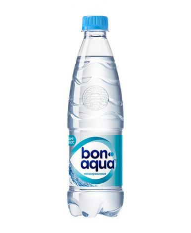 Вода BonAqua негазированная, 0,5л