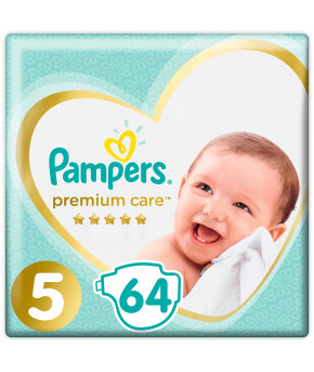 Подгузники Pampers Premium Care 5 (11-16 кг) 64шт