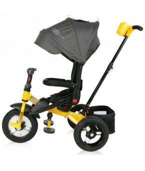Велосипед Lorelli Jaguar Air Black Yellow 2021