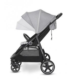 Прогулочная коляска Baby Design COCO 2021 07 gray