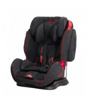 Автокресло Coletto Sportivo Black Red Show (9-36кг)
