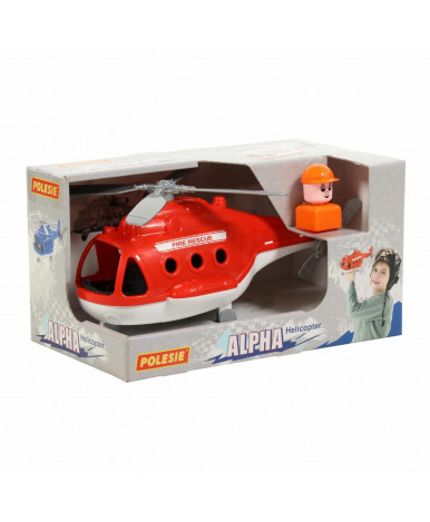 """Вертолёт-пожарный Polesie """"Альфа"""" (в коробке)"""