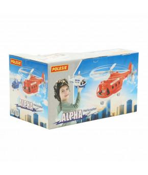 """Вертолёт скорая помощь """"Polesie"""" Альфа (в коробке)"""