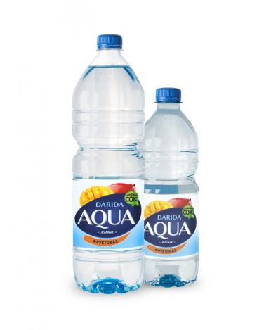 """Вода """"Darida"""" Aqua фруктовая с ароматом манга негазированная, 0,75л"""