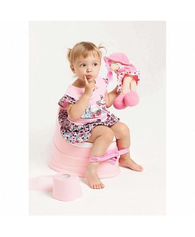 Горшок-трон Пластишка светло-розовый