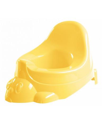 """Горшок-игрушка """"Пластишка"""" 330x270x210 мм желтый"""