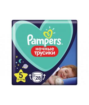 Подгузники-трусики Pampers Pants Hочные 5 (12-17 кг) 28шт