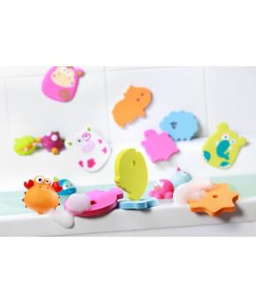 Игрушка для ванны BabyOno Пазлы 6шт
